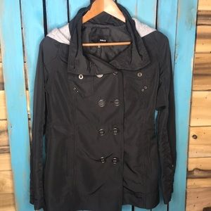 Hurley Winchester Rain Slicker—packable Jacket Med